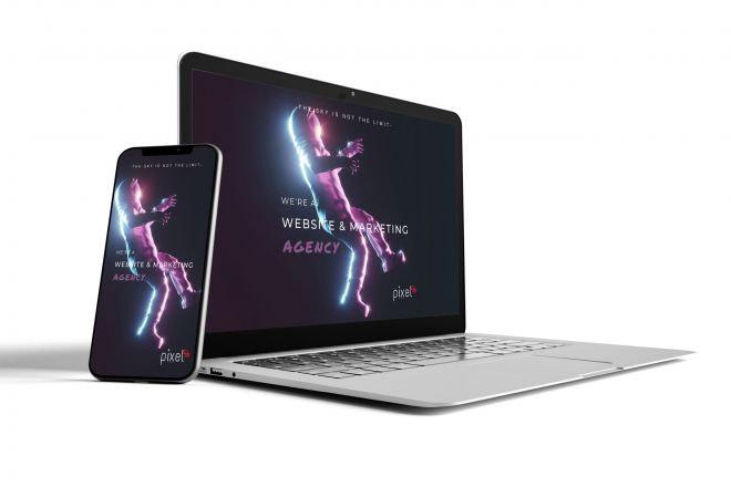 pixel56-mockup für webseite