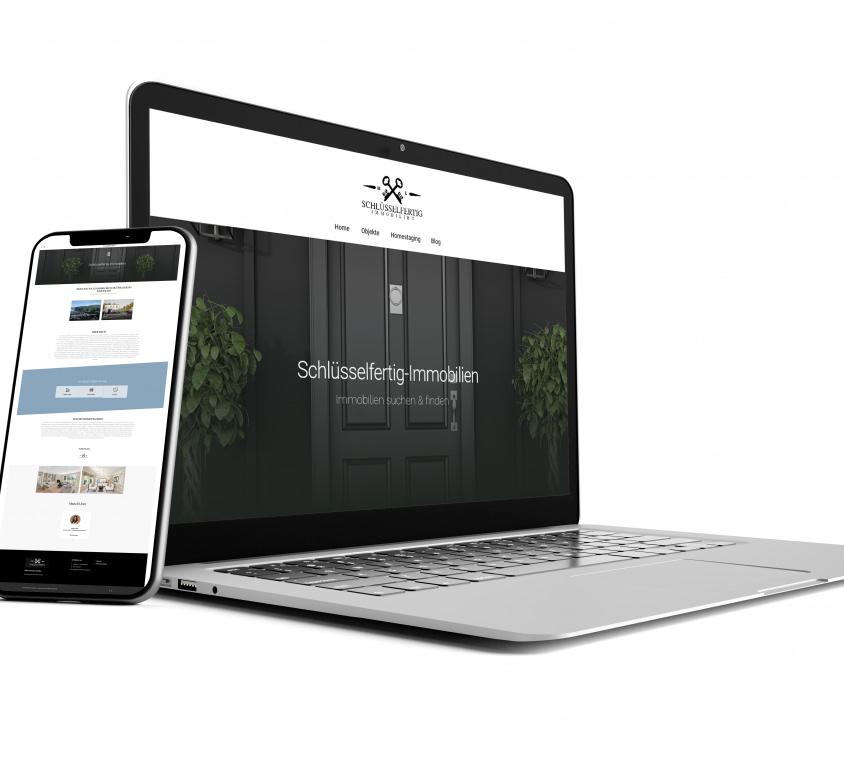 Immobilien Webseite – Schlüsselfertig